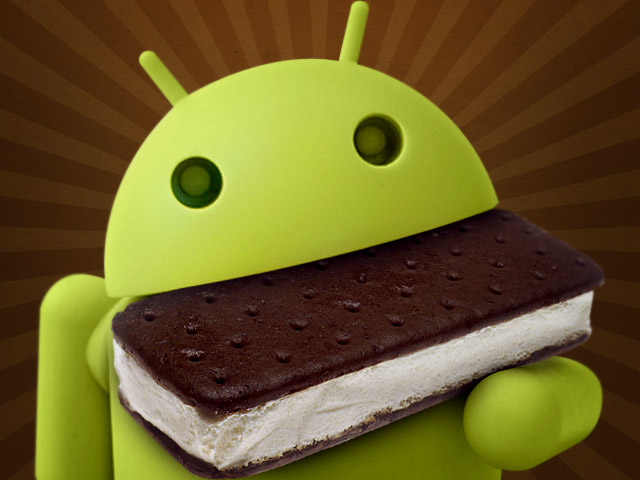 Ice Cream Sandwich'in Android Payı %20.8'e yükseldi.
