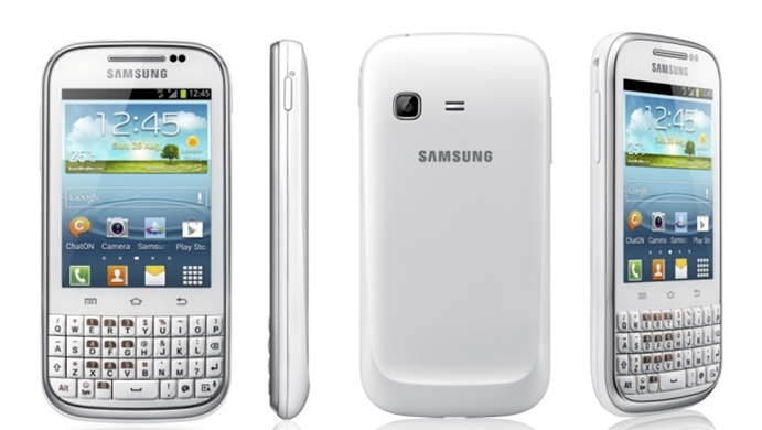 Samsung'dan Android 4.0 lı Galaxy Chat