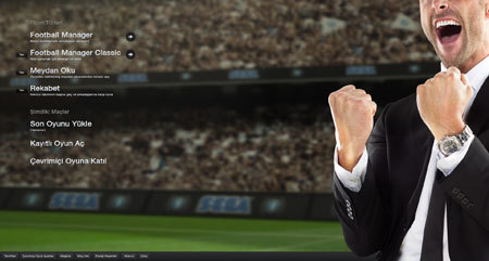Football Manager 2013'de indirim vakti.