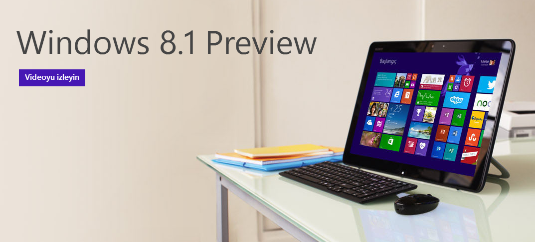 Microsoft Win 8.1 Preview Download